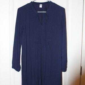 Old Navy Flowy Navy Dress
